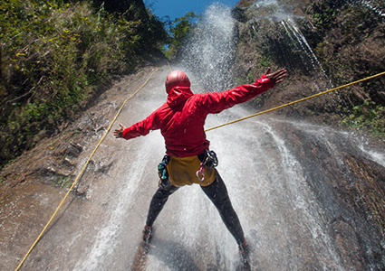 Canyoning in Nepal