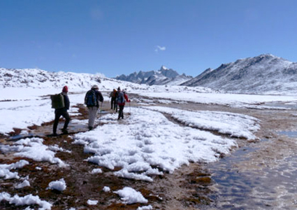 Snowman Trek with Gangkar Puensum